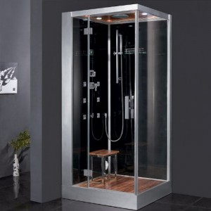 Steam Shower Unit With Rainfall Ceiling Shower