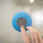 Shower Head With Bluetooth Speaker